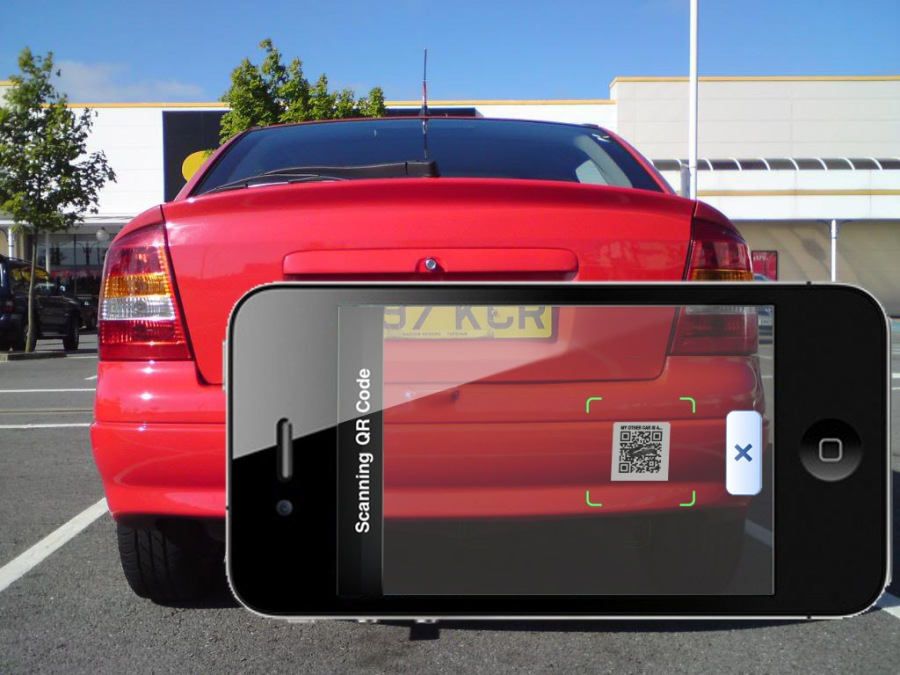 Top gear augmented reality scan astra